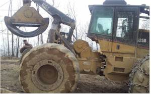 2006 525b CAT Grapple Skidder for Sale
