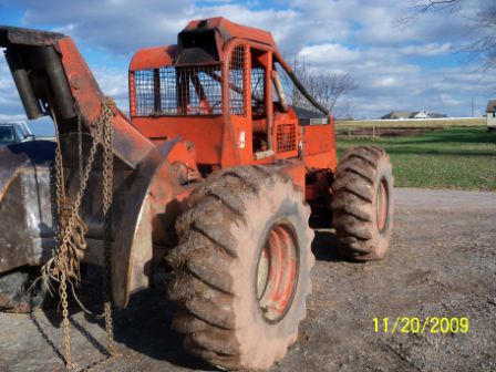 4 New Tires >> 1985 Timberjack 230A cable skidder