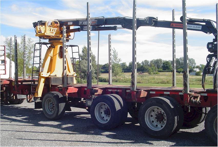 2005 Deloupe Log Trailer
