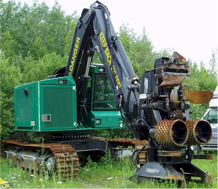 Used Feller-Bunchers for Sale